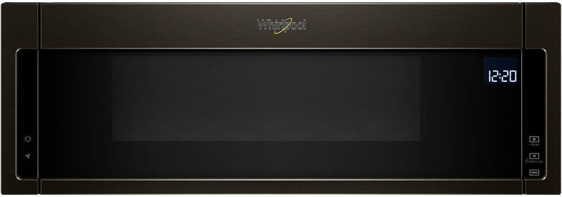 Whirlpool Black Stainless Steel Over-the-Range Microwave/Hood Combination (1.1 Cu. Ft.) YWML75011HV