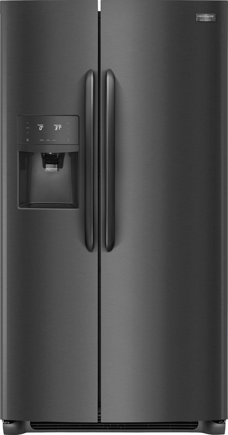 Frigidaire Gallery Black Stainless Steel Counter-Depth Refrigerator (22.2  Cu. Ft.) - FGSC2335TD 88bc7d8ab8bd