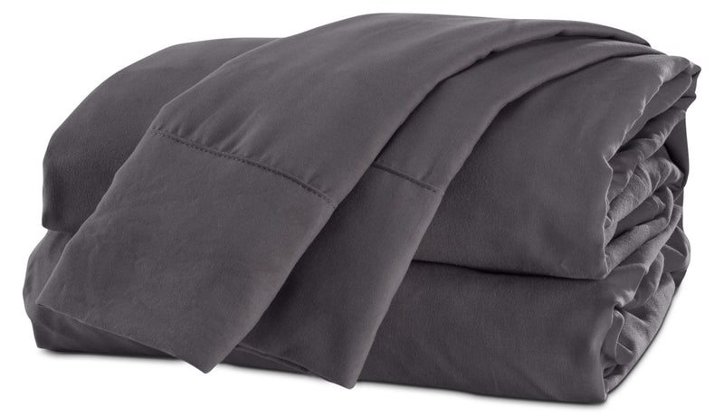 Acadia Full Sheet Set - Medium Grey
