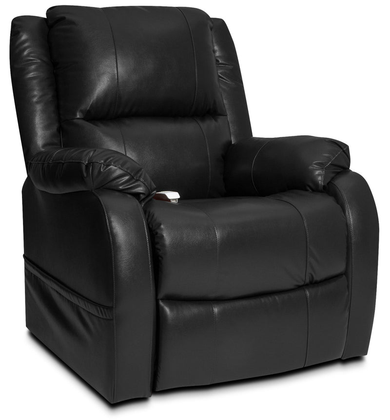 Owen Power Lift Recliner - Black