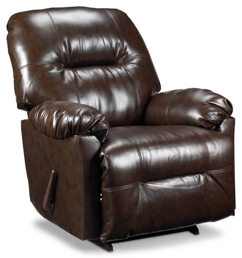 Briar Rocker Recliner - Brown