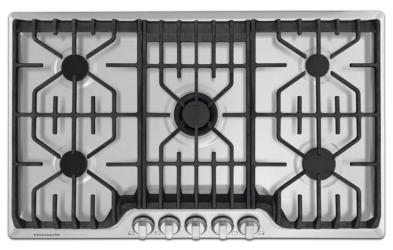 Frigidaire Professional Stainless Steel Gas Cooktop with PowerPlus® Burner - FPGC3677RS