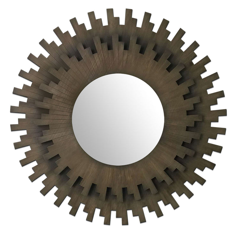 Sunburst Mirror - Bronze