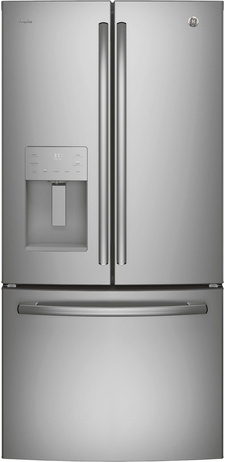 GE Profile Stainless Steel French Door Refrigerator (23.8 Cu. Ft.) - PFE24JSKSS