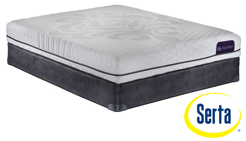 Serta iComfort Eco Levity Firm Twin XL Mattress and Boxspring Set