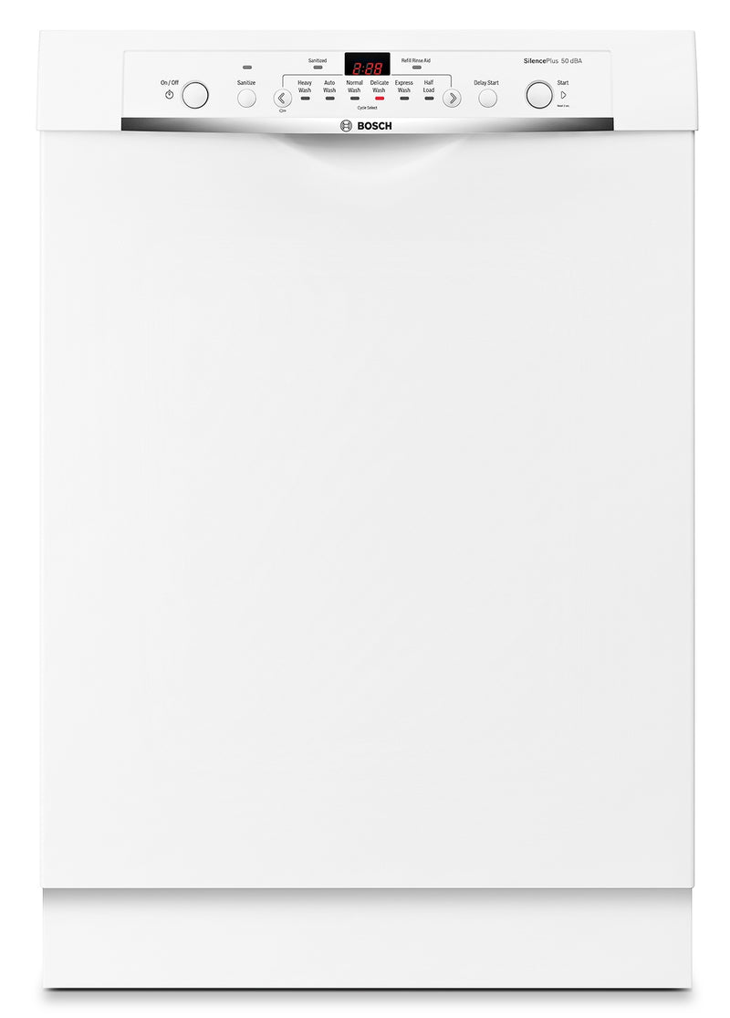 "Bosch White 24"" Dishwasher - SHE3AR72UC"