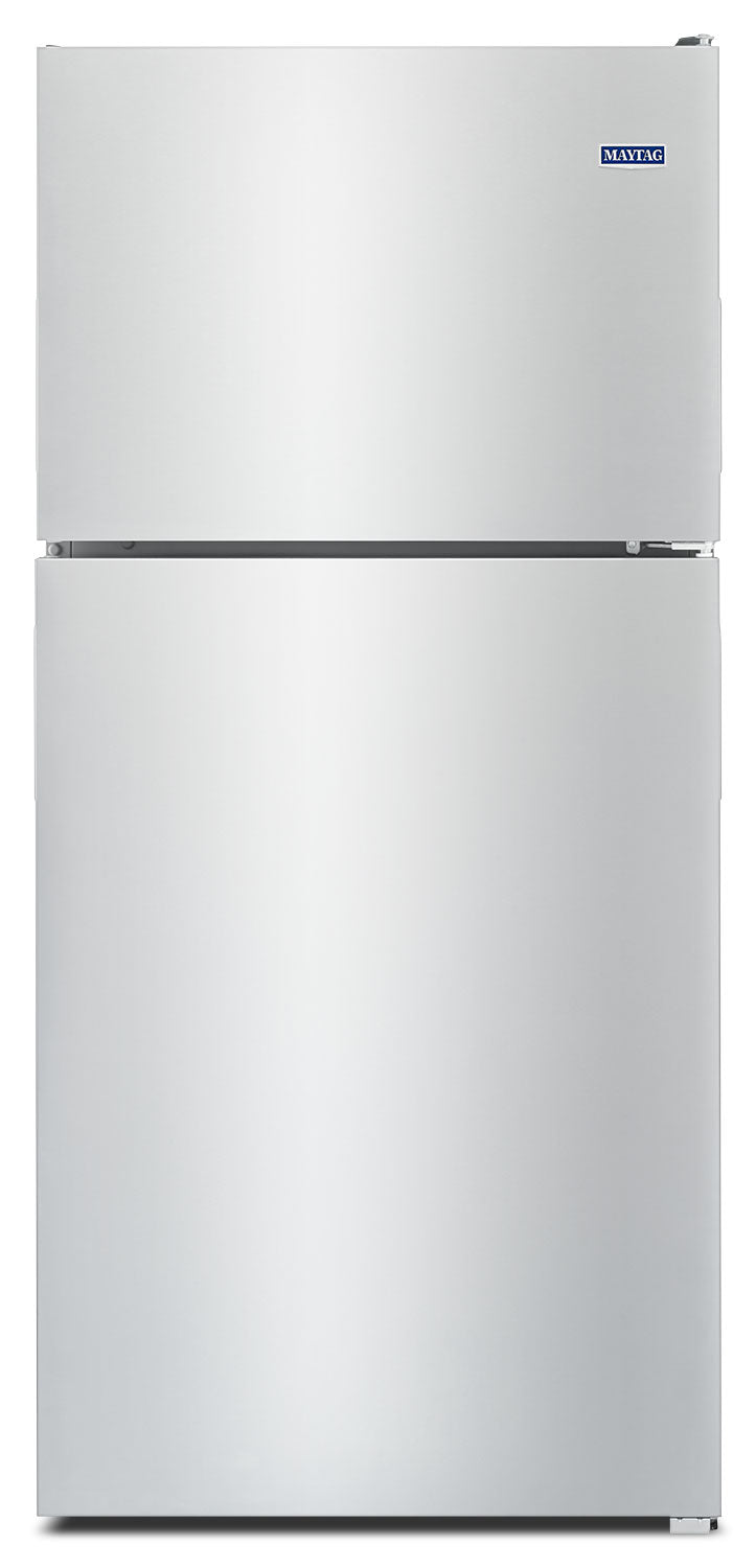 Maytag Stainless Steel Top-Freezer Refrigerator (18.0 Cu. Ft.) - MRT118FFFZ