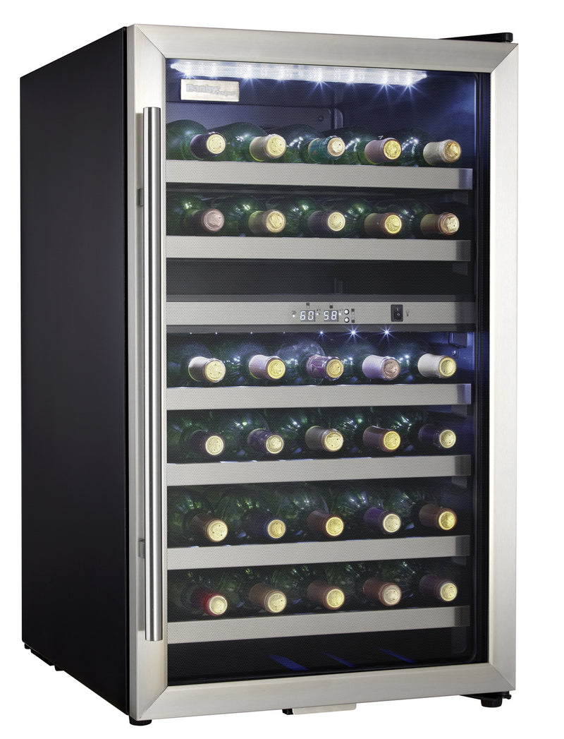 Image of Danby Stainless Steel Dual-Zone Wine Cooler (4 Cu. Ft.) - DWC114BLSDD