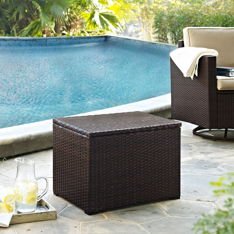 Palm Harbor Outdoor Cooler - Brown