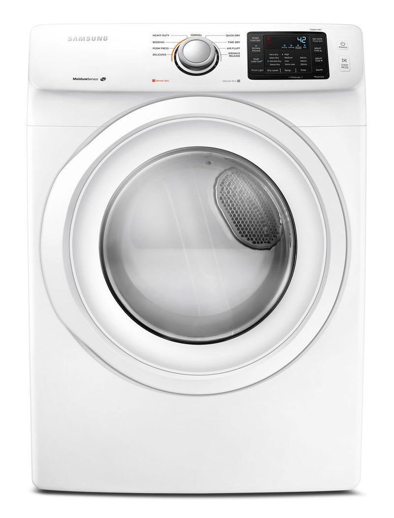 Samsung White Electric Dryer (7.5 Cu. Ft.) - DV42H5000EW