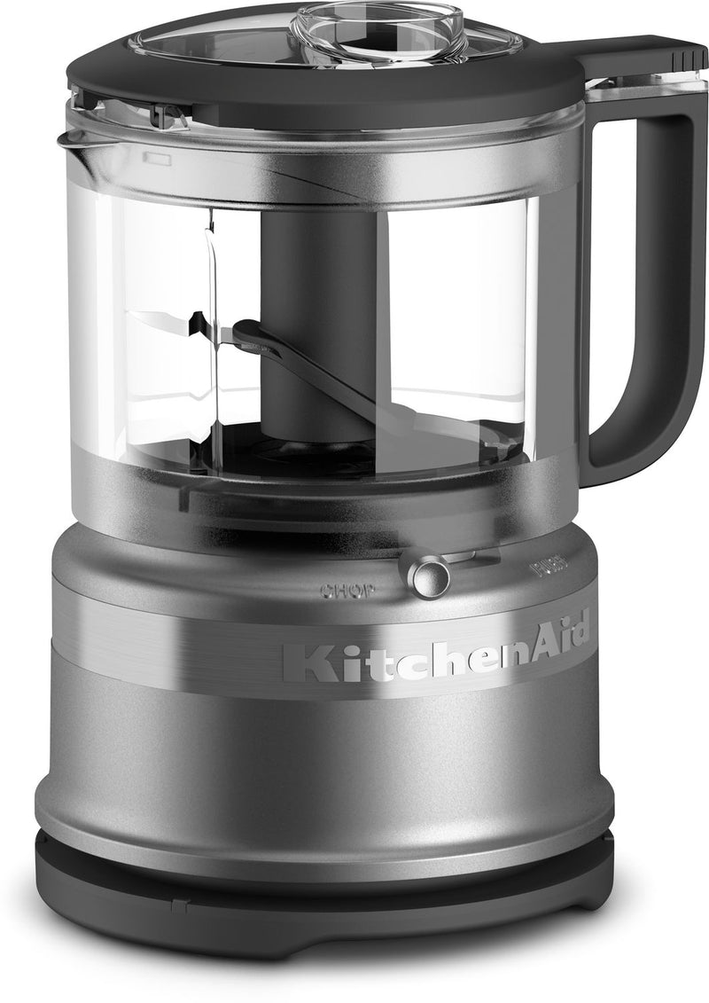 KitchenAid Contour Silver 3.5-Cup Mini Food Processor - KFC3516CU
