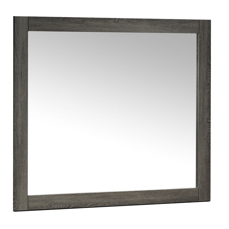 Driftwood Mirror - Rustic Brown
