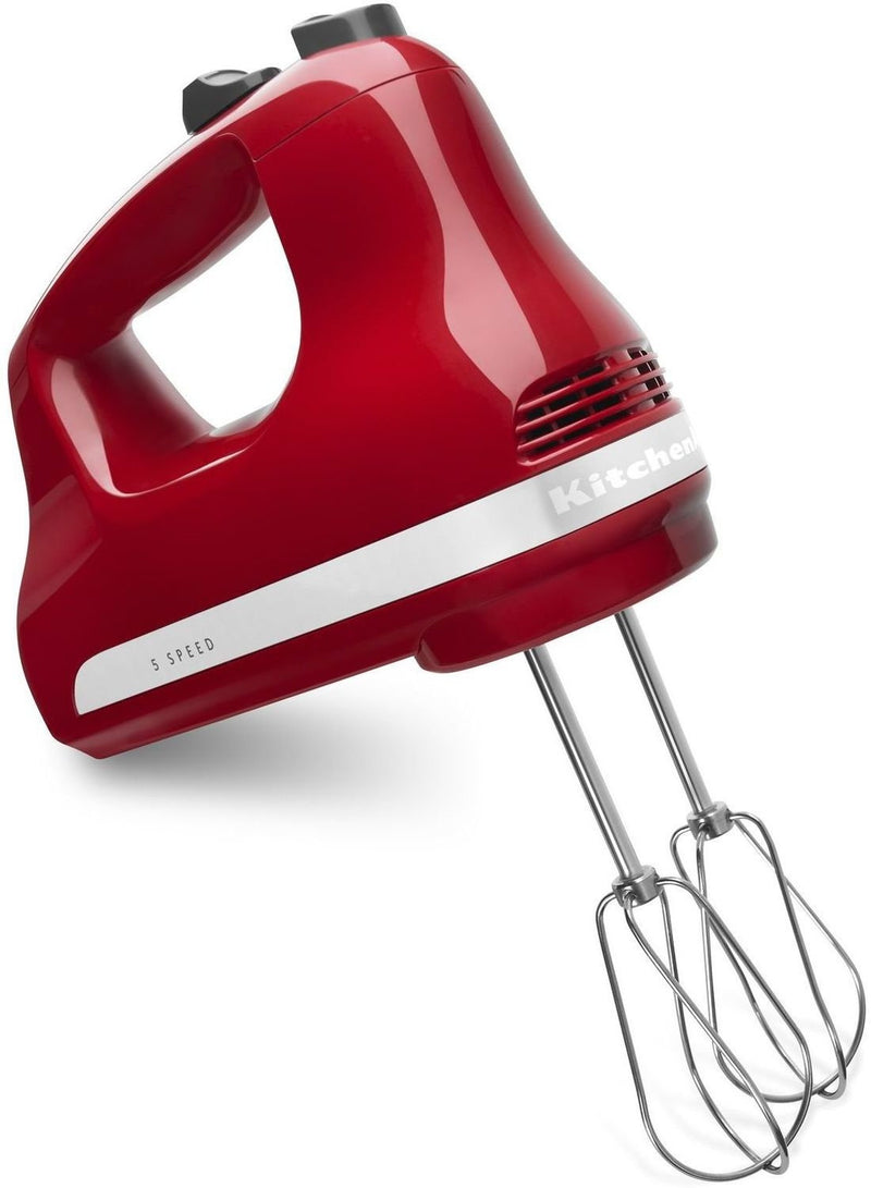 KitchenAid Empire Red 5-Speed Ultra Power™ Hand Mixer KHM512ER