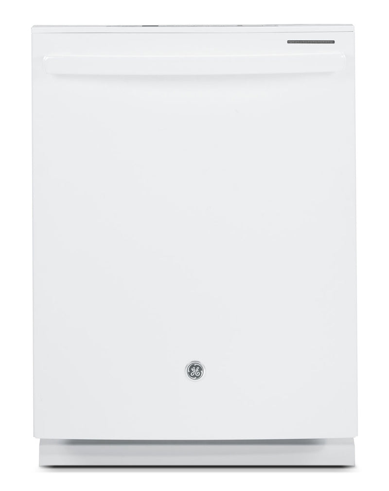 "GE White 24"" Dishwasher - PBT650SGLWW"
