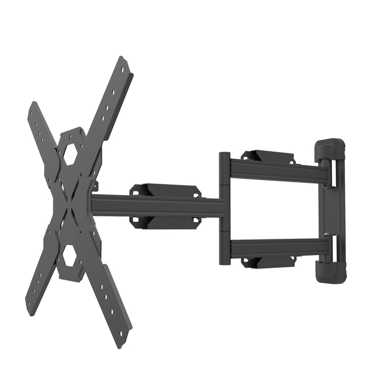 "Full Motion Single Stud TV Wall Mount with 28"" Extension for 30"" to 70"" TVs - PS400"