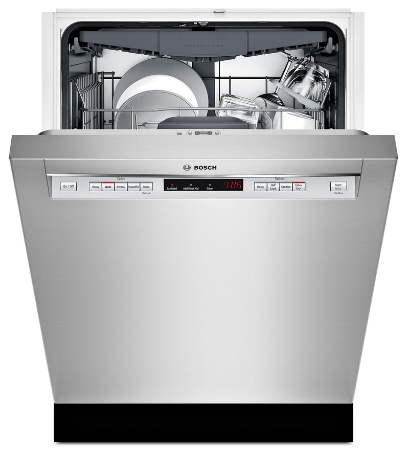 "Bosch Stainless Steel 24"" Dishwasher - SHEM63W55N"