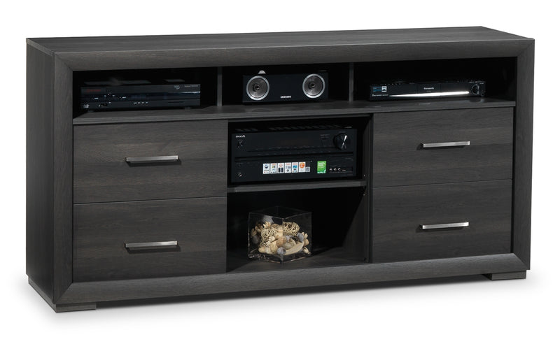 "Iver 65"" TV Stand - Grey"