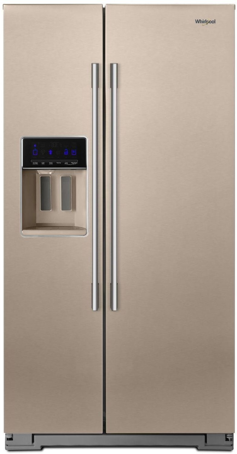 Whirlpool Sunset Bronze Side-by-Side Refrigerator (28 Cu. Ft.) - WRSA88FIHN