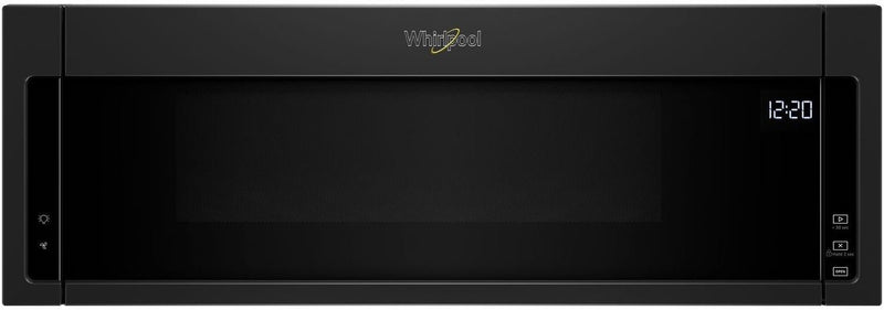 Whirlpool Black Over-the-Range Microwave and Hood Combination (1.1 Cu. Ft.) - YWML55011HB