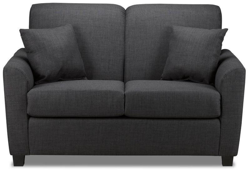 Roxanne Loveseat - Charcoal