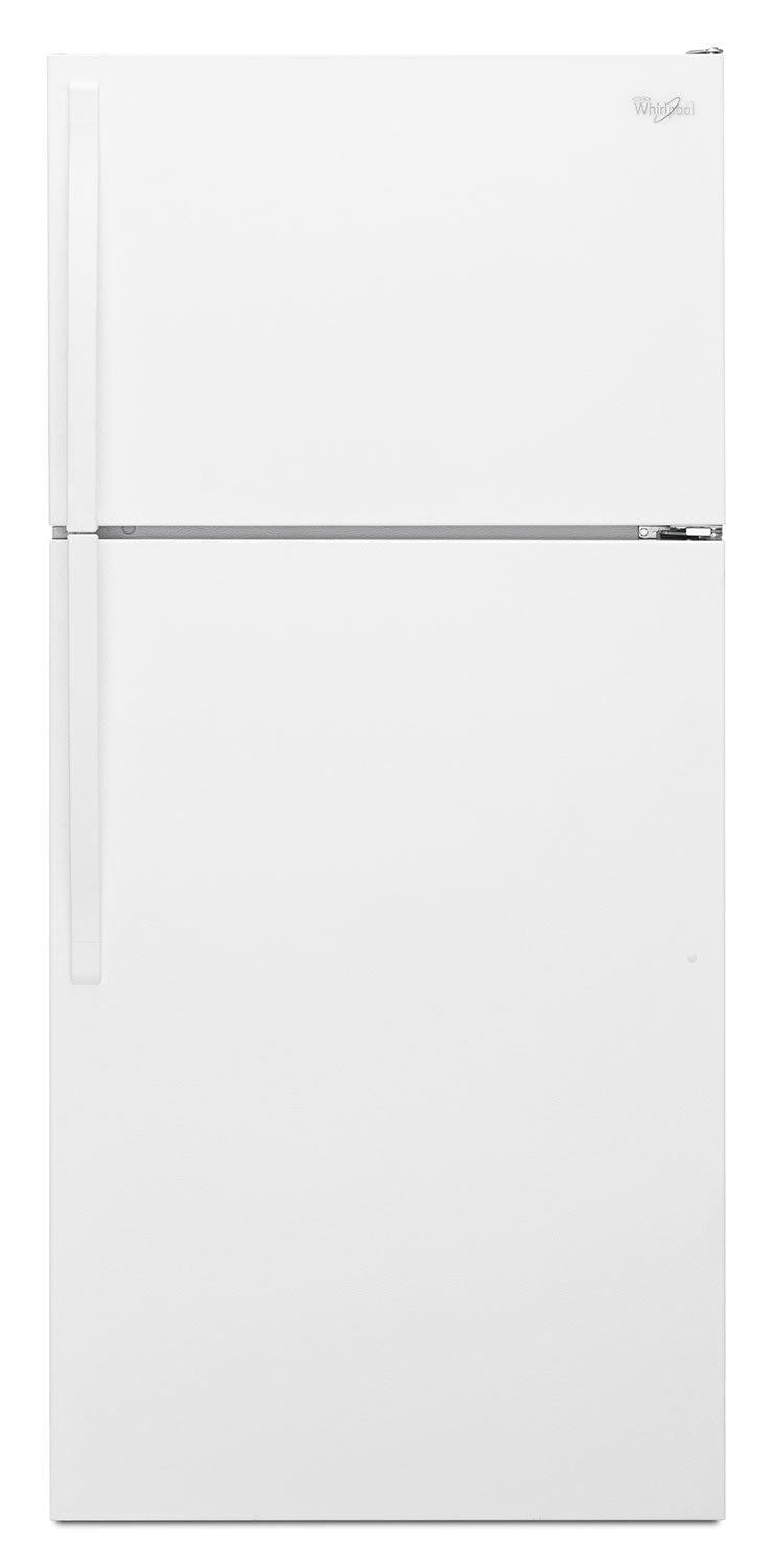 Whirlpool White Top-Freezer Refrigerator (14.3 Cu. Ft.) - WRT314TFDW