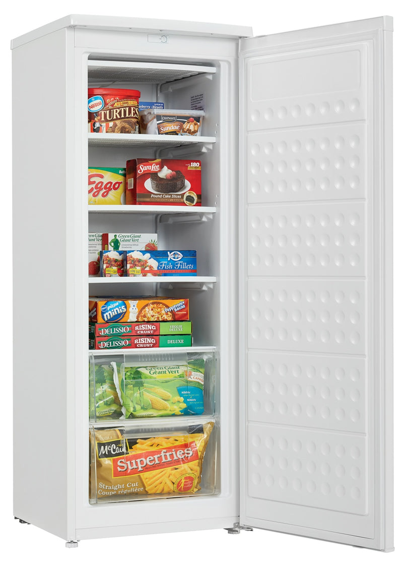 Danby White Upright Freezer (5.9 Cu. Ft.) - DUFM059C1WDD
