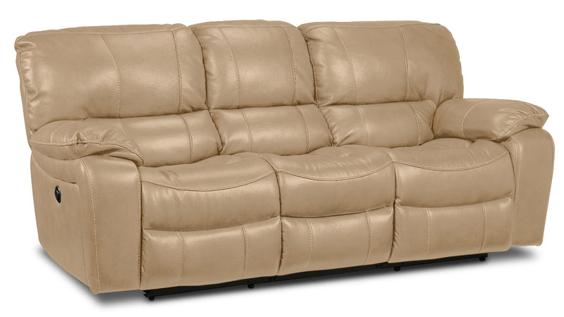 Santorini Power Reclining Sofa - Taupe