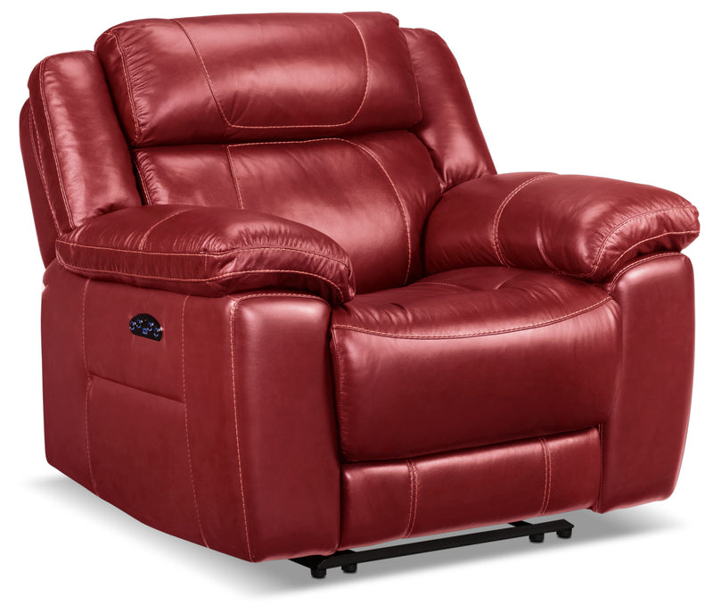 Solenn Power Recliner - Rouge