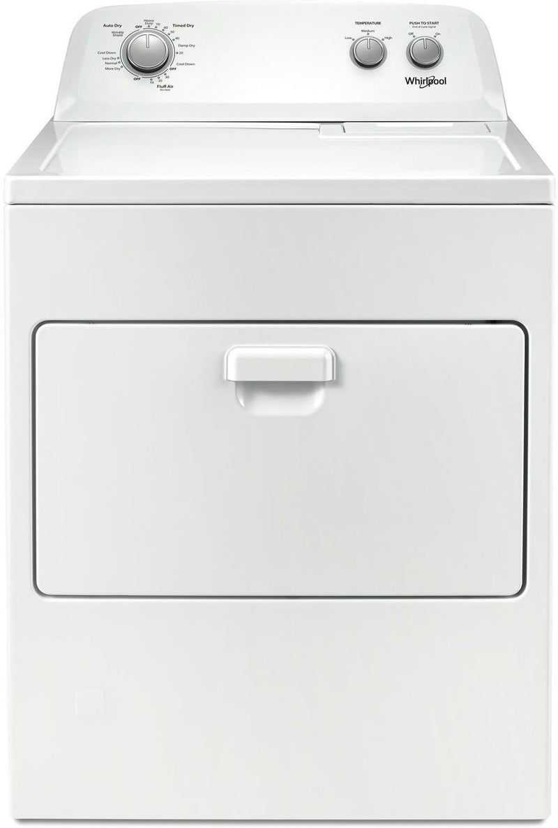 Whirlpool White Gas Dryer (7.0 Cu. Ft.) - WGD4850HW