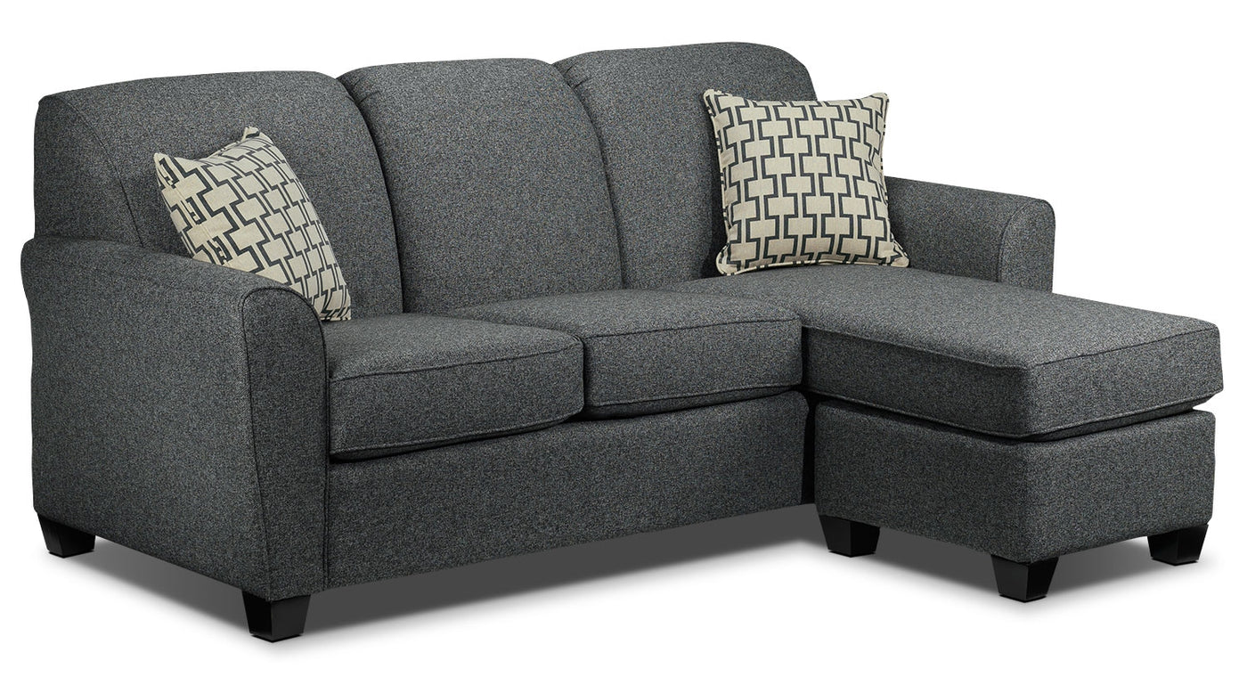 Ashby Chaise Sofa   Grey. Hover To Zoom