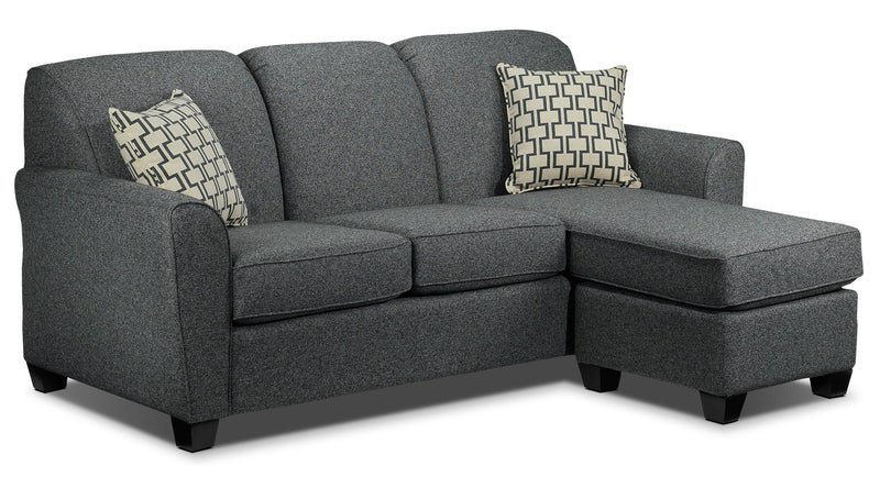 Ashby Chaise Sofa - Grey