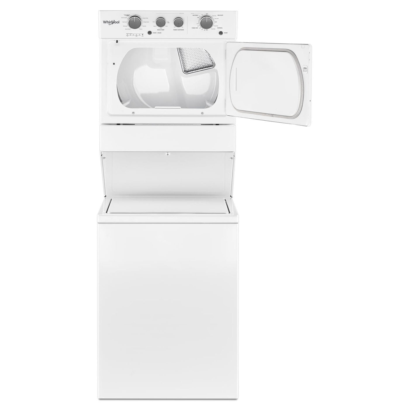 Whirlpool White Electric Laundry Centre Ywet4027hw Leon S