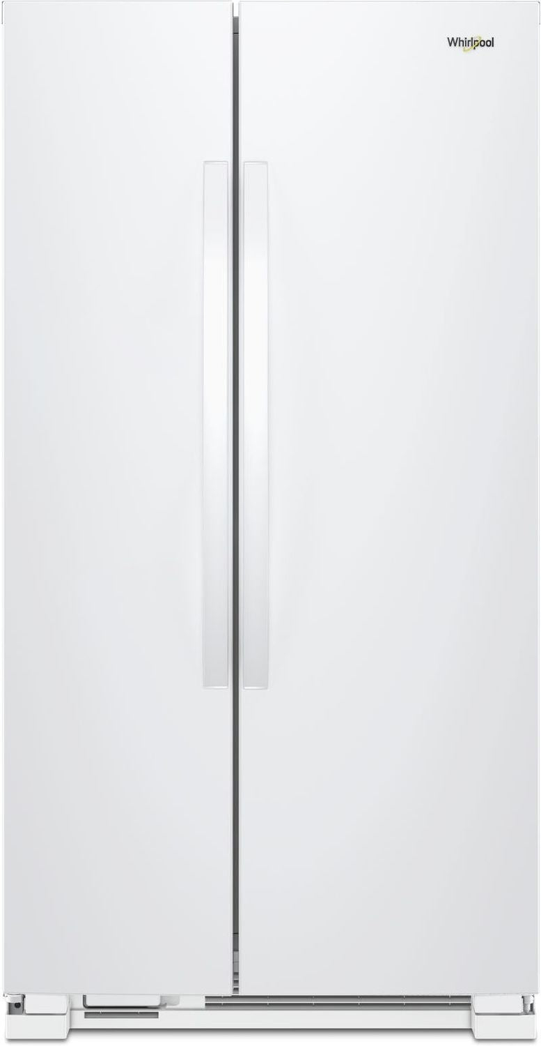 Whirlpool White Side-by-Side Refrigerator (22 Cu. Ft.) - WRS312SNHW