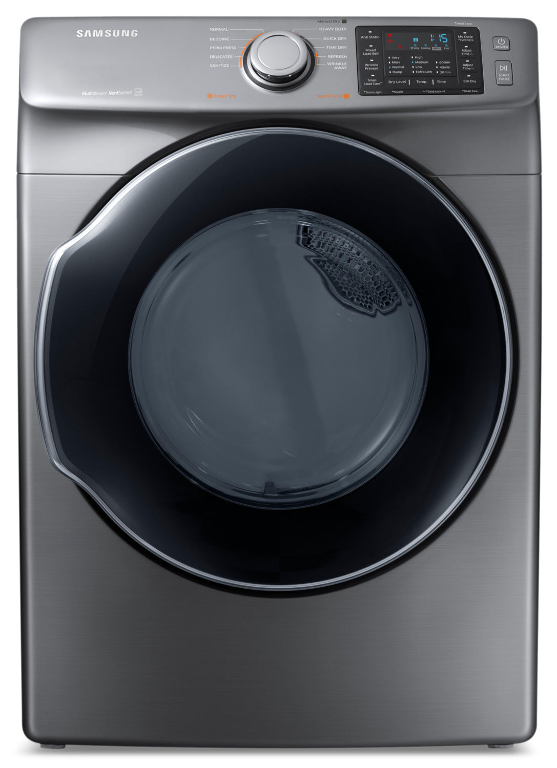 Samsung Platinum Electric Dryer (7 5 Cu  Ft) - DVE45M5500P/AC