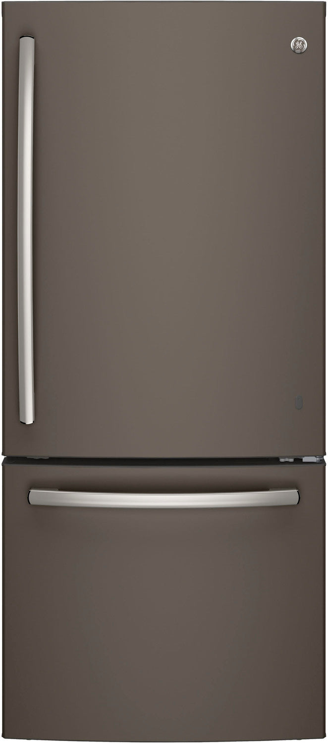 GE Slate BOTTOM-FREEZER REFRIGERATOR (20.9 CU. FT.) - GDE21DMKES
