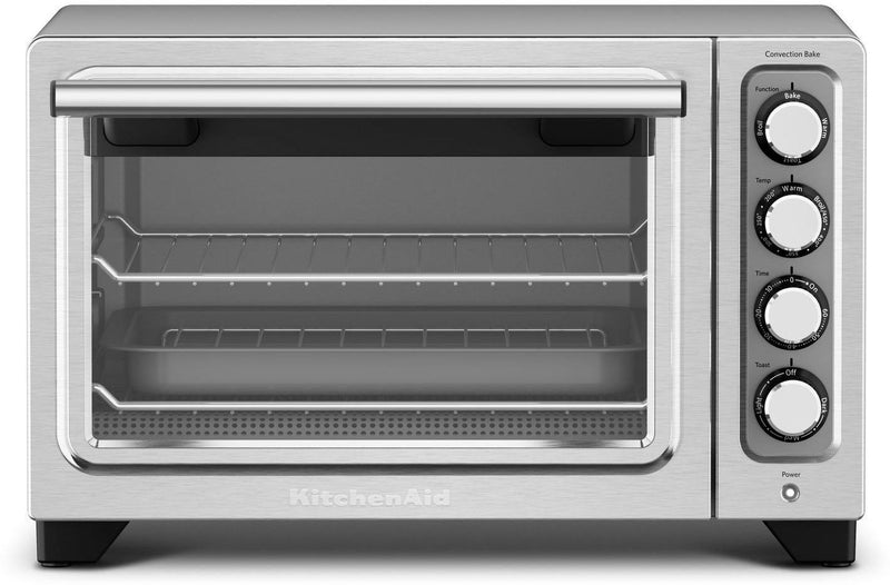 KitchenAid Contour Silver Convection Countertop Oven - KCO253CU