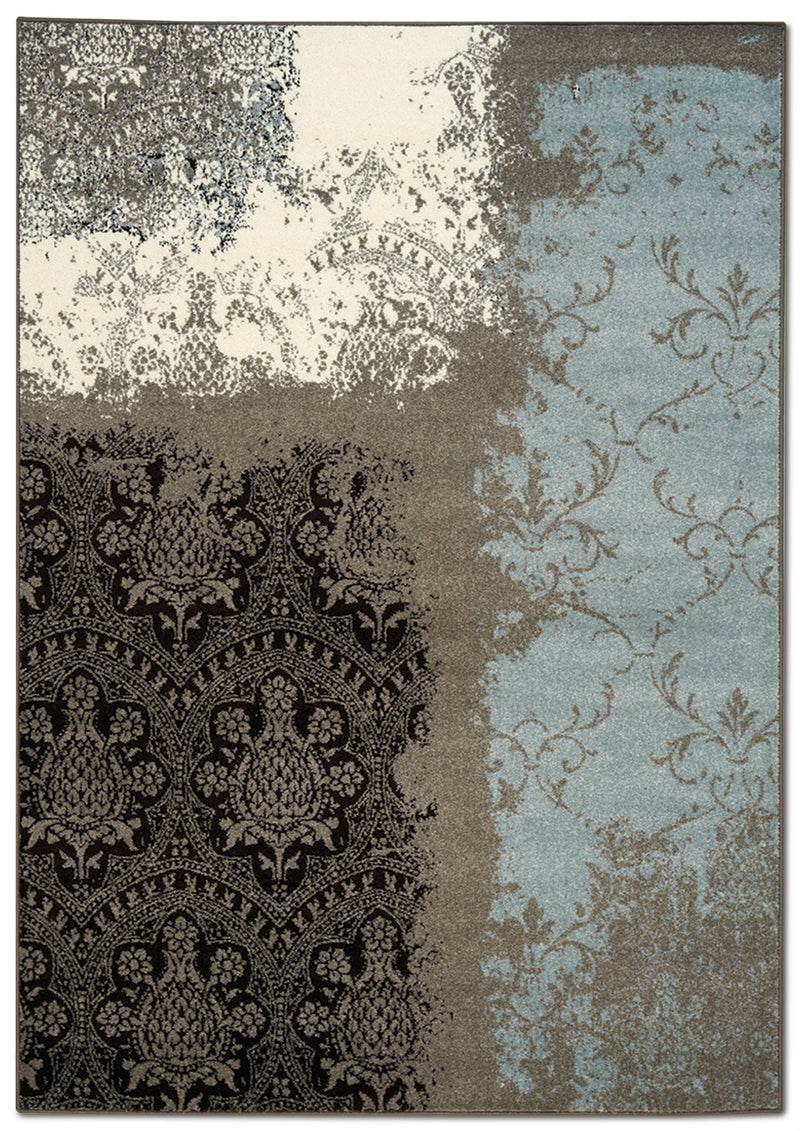 Aldridge 8' x 11' Area Rug - Blue and Brown