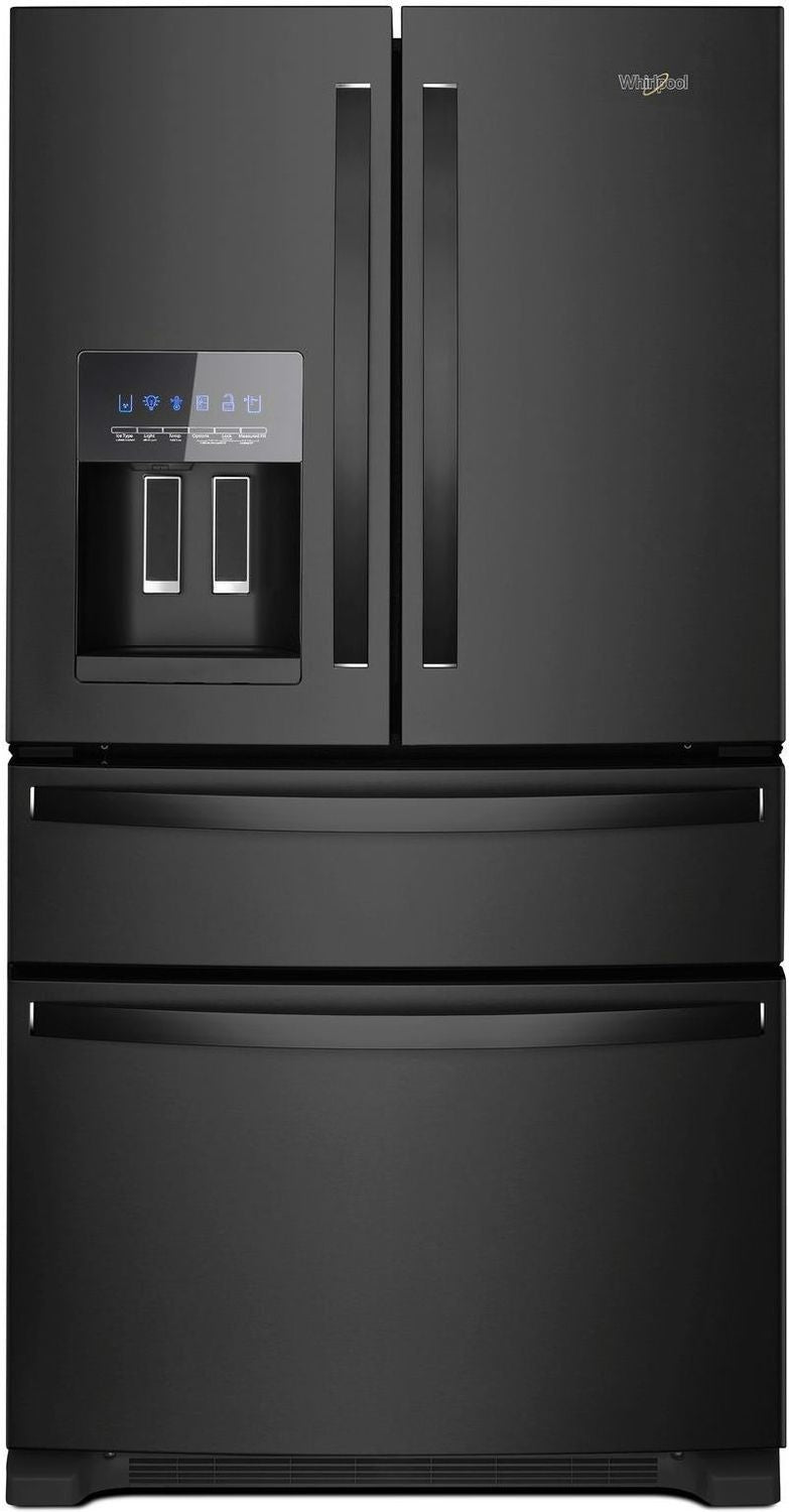 Whirlpool Black French Door Refrigerator (25 Cu. Ft.) - WRX735SDHB