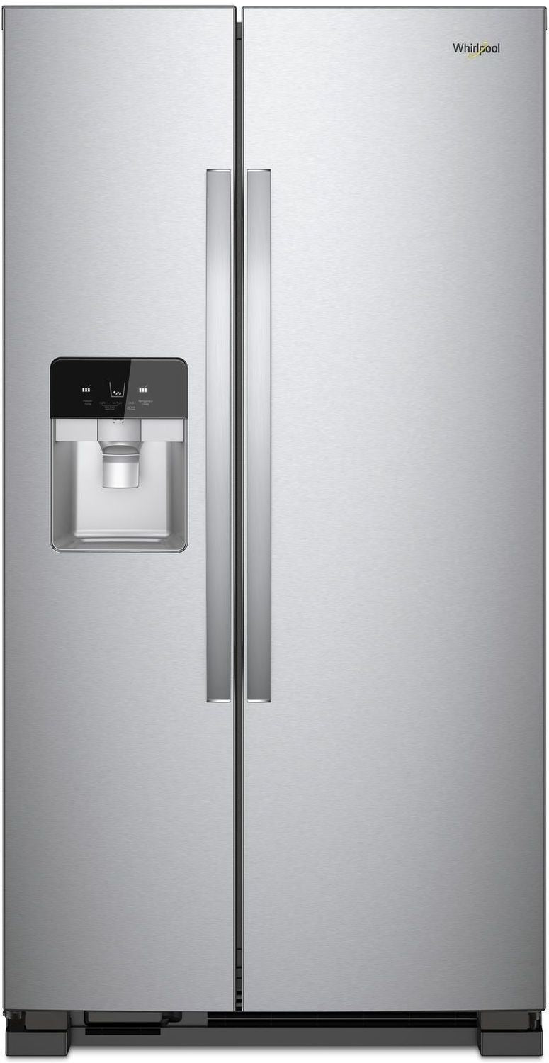 Whirlpool Stainless Steel Side By Side Refrigerator 21 4
