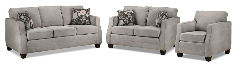 Agnes Sofa, Loveseat and Chair Set