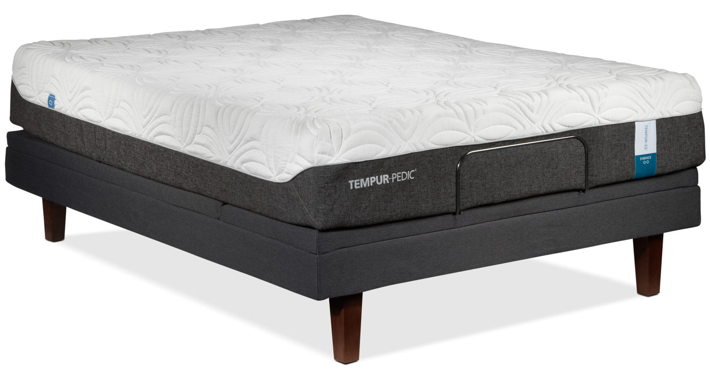 Tempur-Pedic Embrace 2.0 Plush Queen Mattress and Complete ...