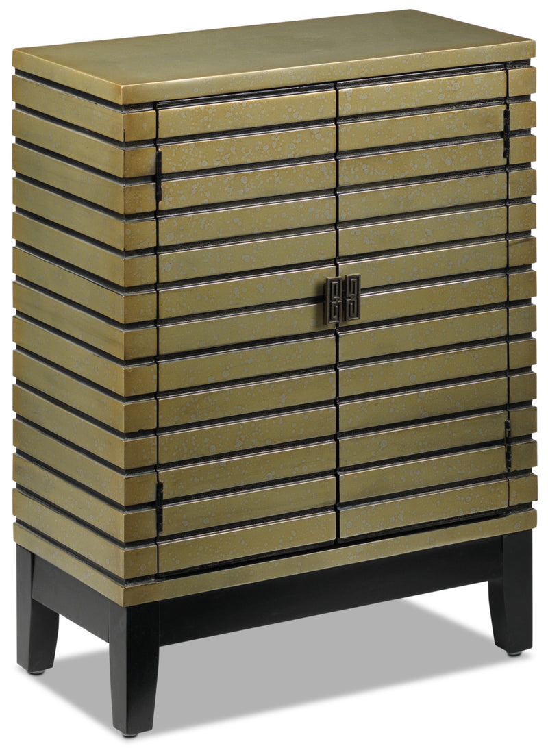 Oia Accent Cabinet - Antique Champagne