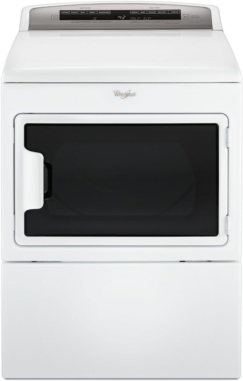 Whirlpool White Electric Dryer (7.4 Cu. Ft.) - YWED7500GW
