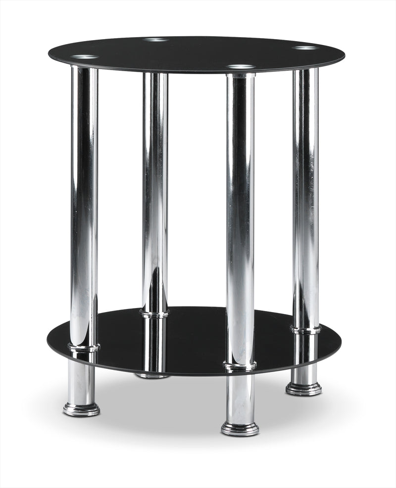 Oriana End Table - Black