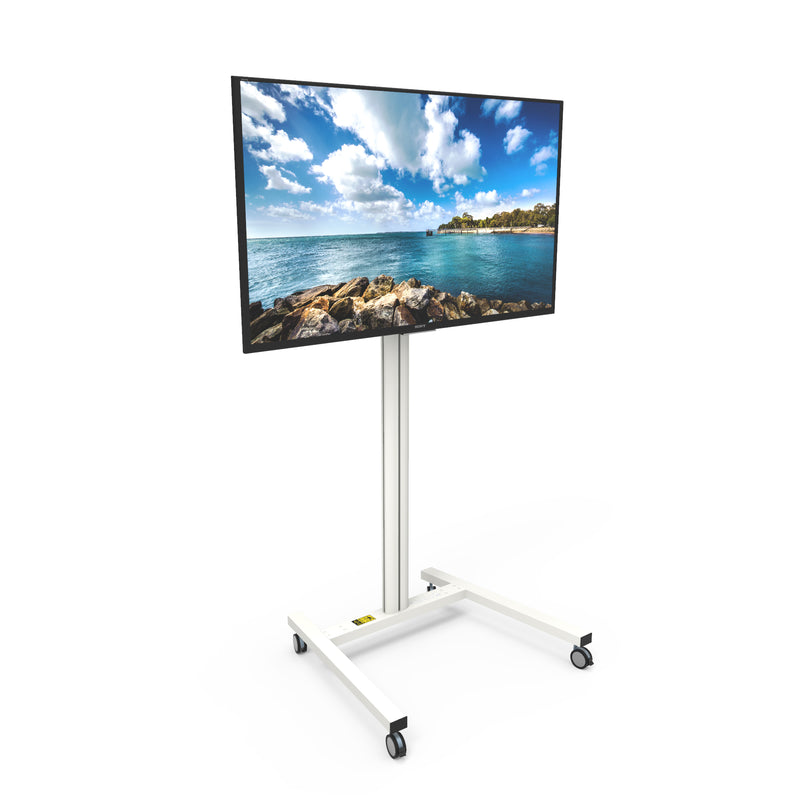 "Rolling Mobile TV Floor Stand for 37"" to 65"" TVs - MKH65W"