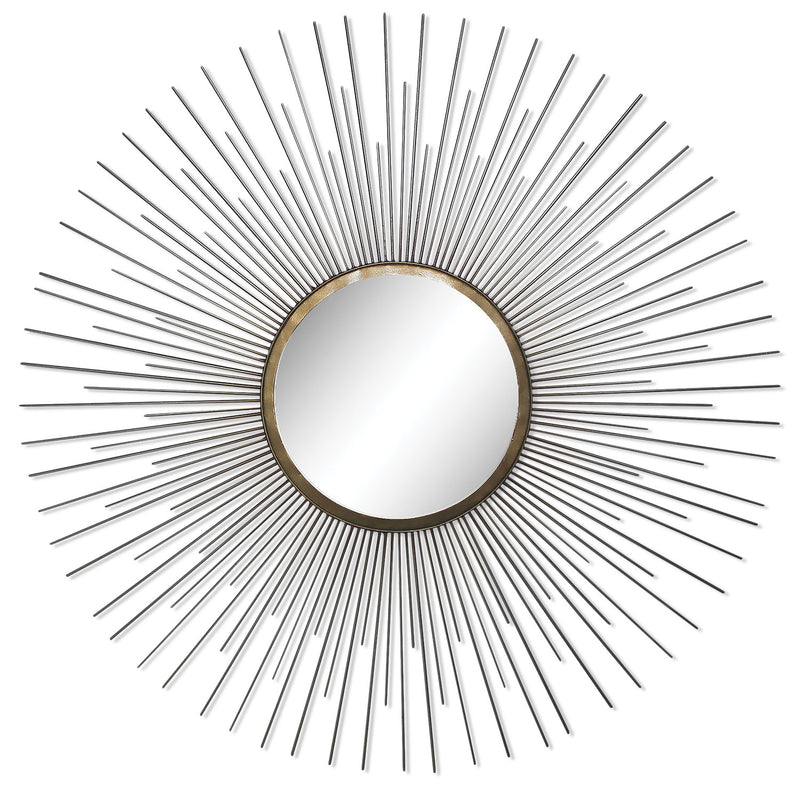Triple Spoke Mirror - Chrome