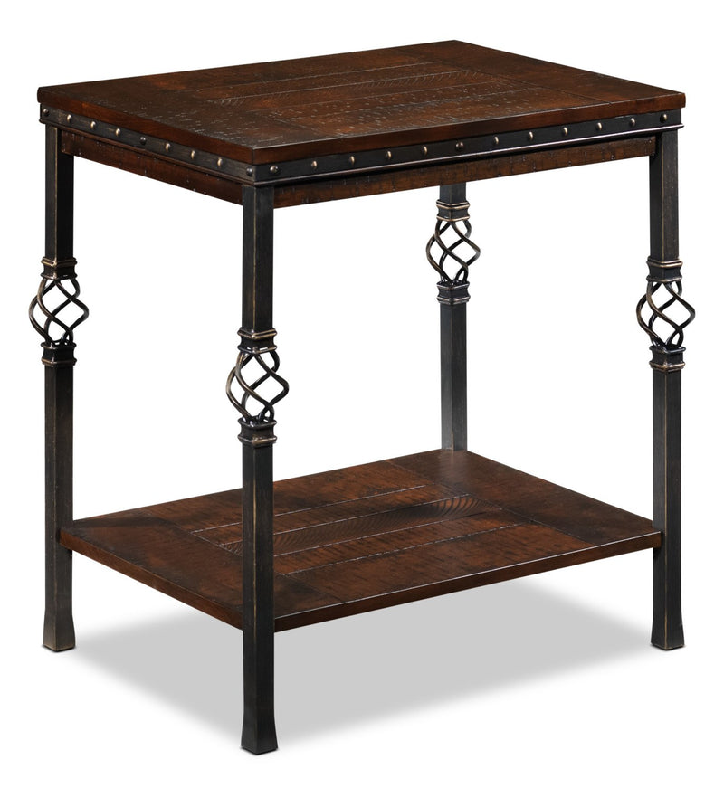 Sterling Side Table - Walnut