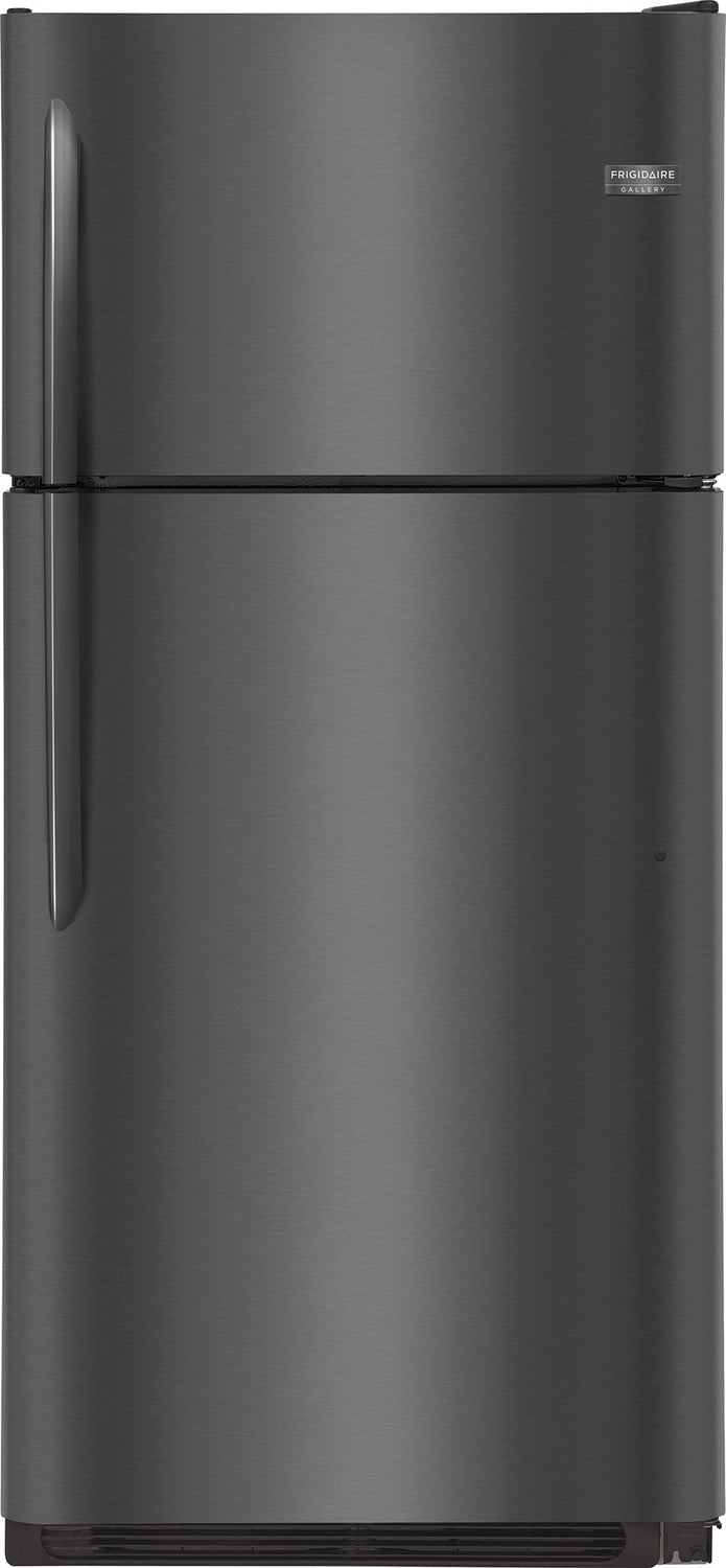 Frigidaire Gallery Black Stainless Steel Top-Freezer Refrigerator (18 Cu. Ft.) - FGTR1837TD