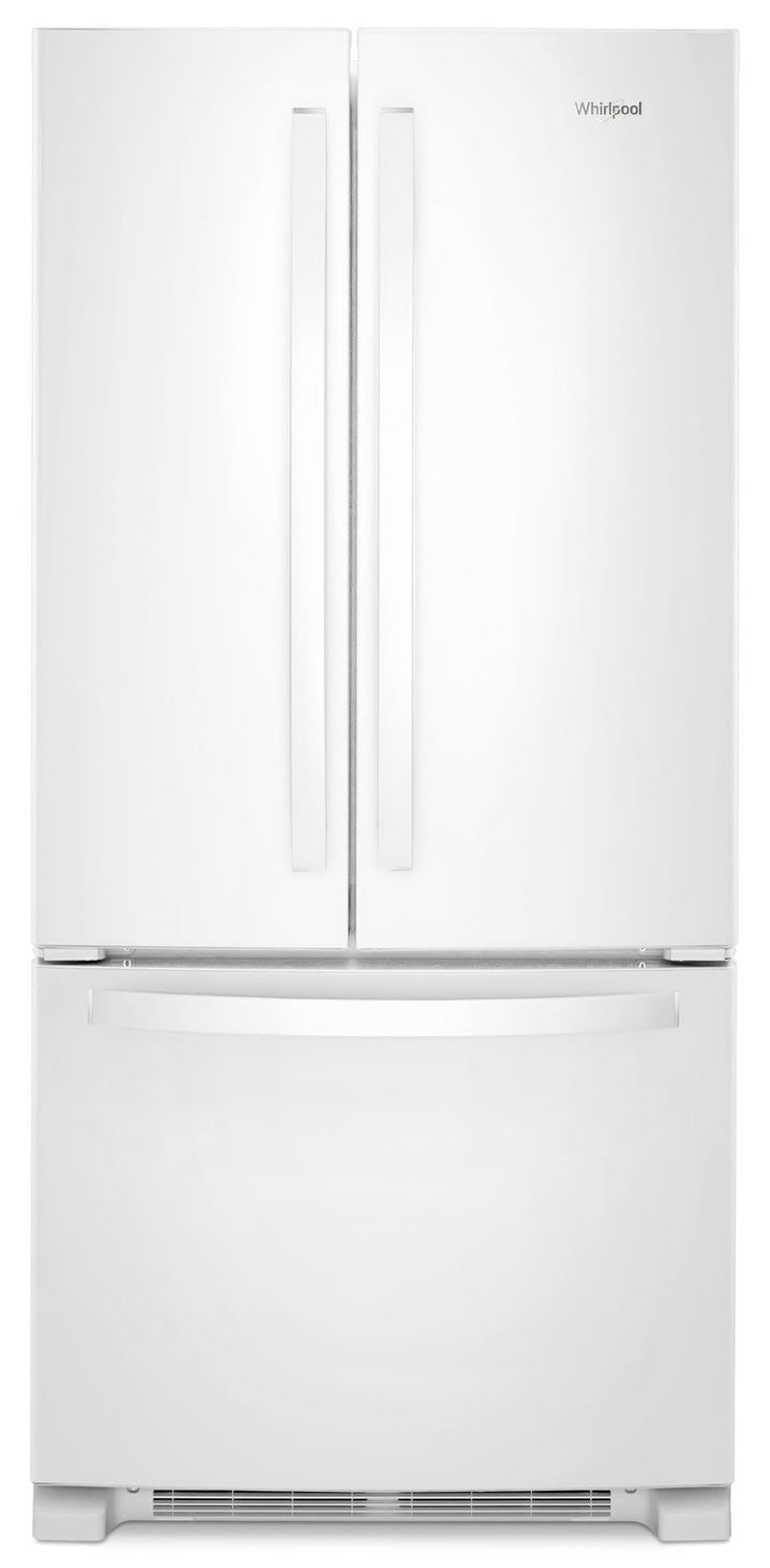 Whirlpool White French Door Refrigerator (22 Cu. Ft.) - WRF532SNHW