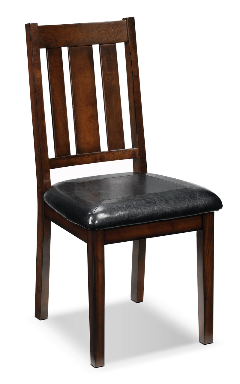 Boyd Side Chair - Dark Brown Cherry